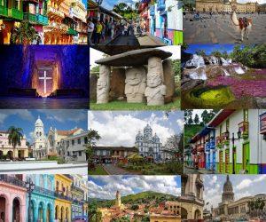 แหล่งท่องเที่ยวที่น่าสนใจของประเทศโคลอมเบีย