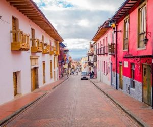 ย่านเมืองเก่า La Candelaria ประเทศโคลอมเบีย